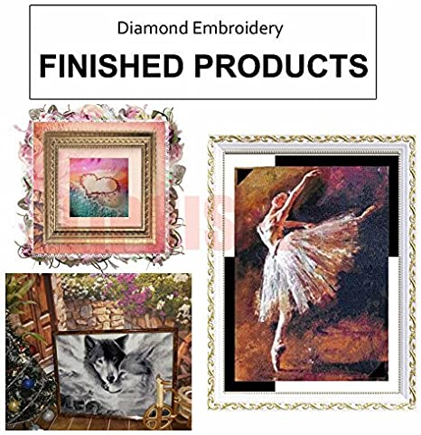 LIPHISFUN DIY Diamond 5D Embroidery Paintings Resin Square Rhinestone Full Pasted Unfinished Painting Cross Stitch Forest 30x40cm