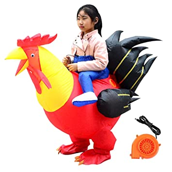 Amazon.com: Discountstore145 Inflable Riding Chicken ...