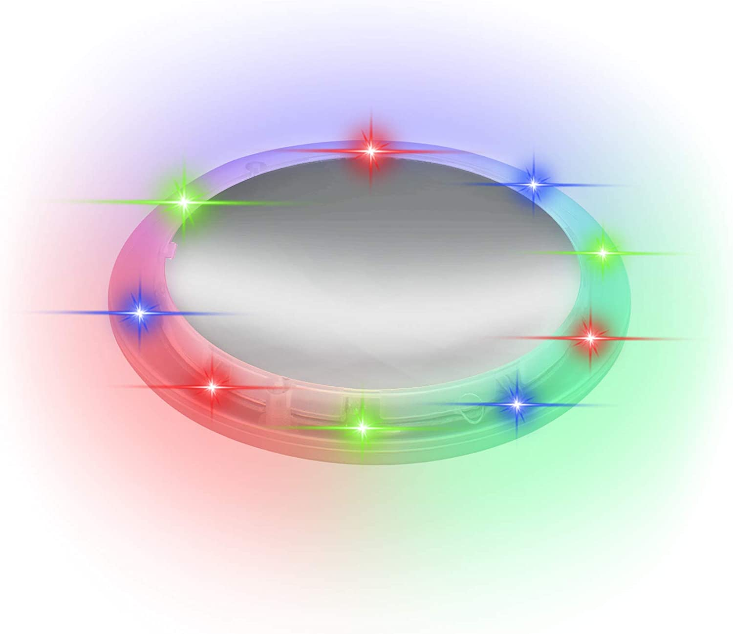 LED Light Up Multi Color Tunnel Drink Coaster Barware Party Favor