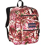 JanSport Big Student Backpack- Discontinued Colors (Multi Vintage Rose)