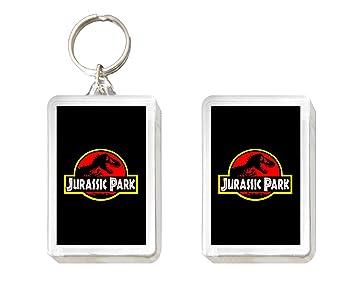 Sconosciuto Llavero y Imán Jurassic Park: Amazon.es ...