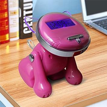 Actim Relojes Despertadores Inteligentes Digitales 12/24 Horas para Habitaciones Infantiles como Reloj Despertador Parlante Lindo Gato, Rose: Amazon.es: ...