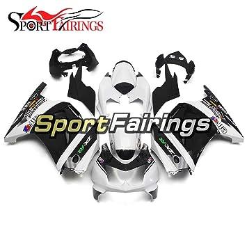 sportfairings West color blanco Full Inyección de plásticos ABS Kits de carenado para Kawasaki ex250r Ninja