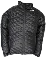 New The North Face Women's ThermoBall Full-Zip Insulated Jacket TNF Black Small