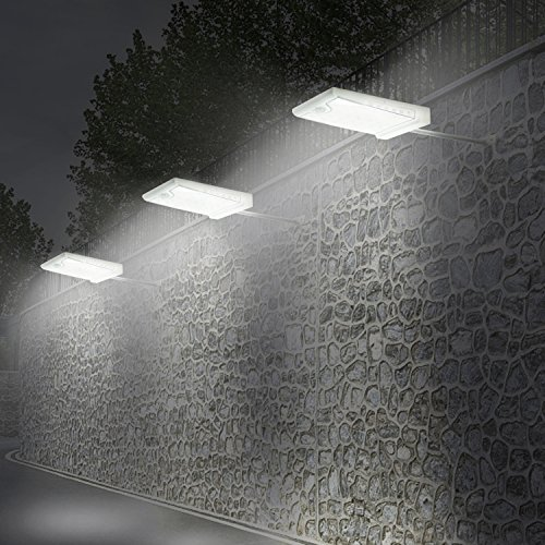 Creative Design 46 LED Solar Lights Outdoor with Mounting Pole, 4 Modes Solar Gutter Light Motion Sensor Light Wall Light for Patio, Barn,Porch,Garage,Stairs, Pack of 2 by CREATIVE DESIGN (Image #6)