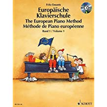 The European Piano Method - Volume 1: Book/CD