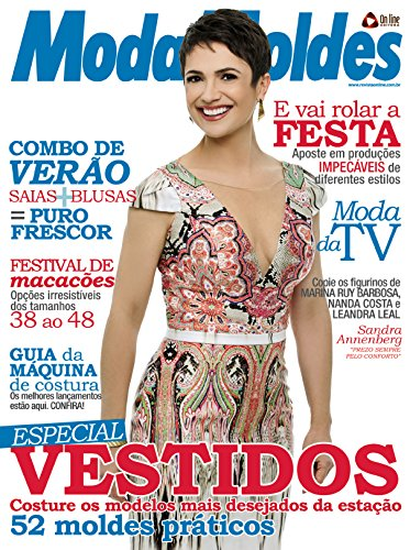 Moda Moldes 68 (Portuguese Edition) by [Editora, On Line]