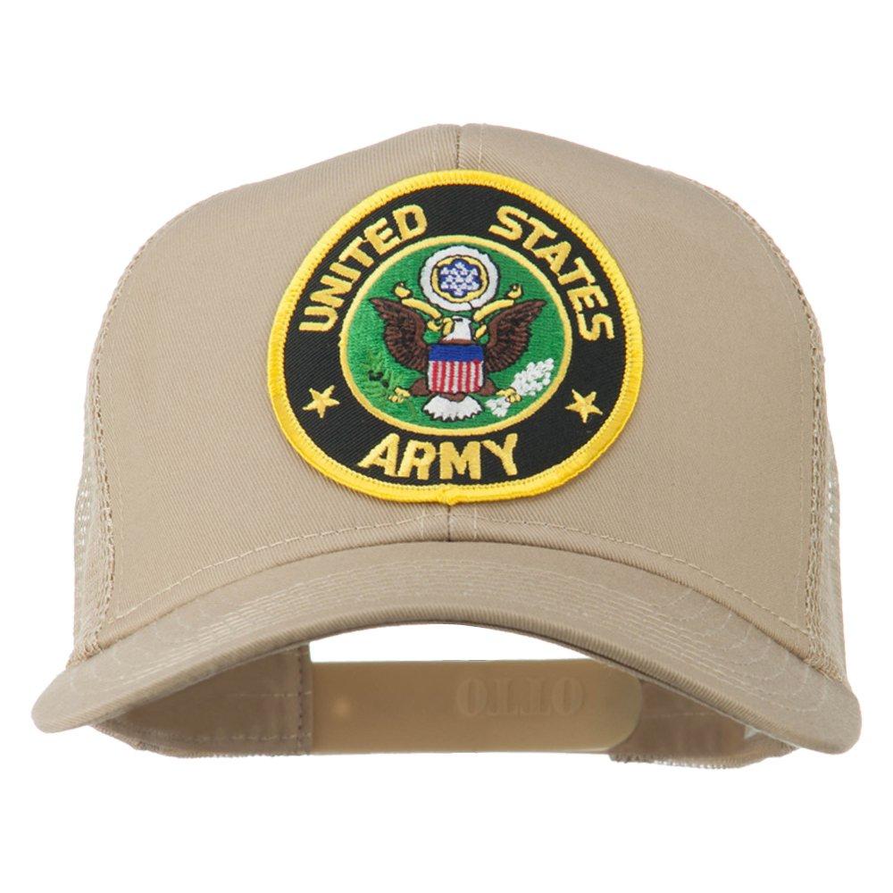 e4Hats.com US Army Circular Patched Mesh Cap