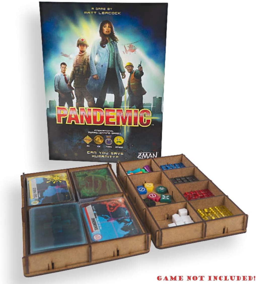 docsmagic.de Organizer Insert for Pandemic Box - Encarte: Amazon.es: Juguetes y juegos