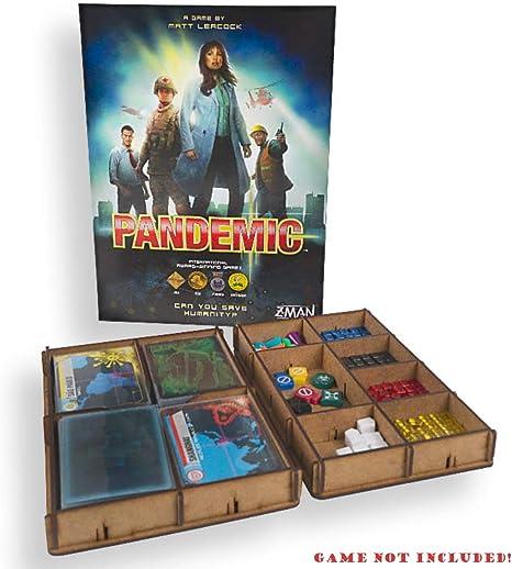 docsmagic.de Organizer Insert for Pandemic Box - Encarte: Amazon ...