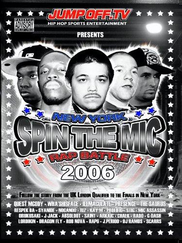 SPIN THE MIC: New York Rap Battle 2006 Part 1 -