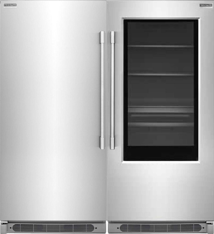 Amazoncom Frigidaire Professional 19 Cu Ft Glass Door