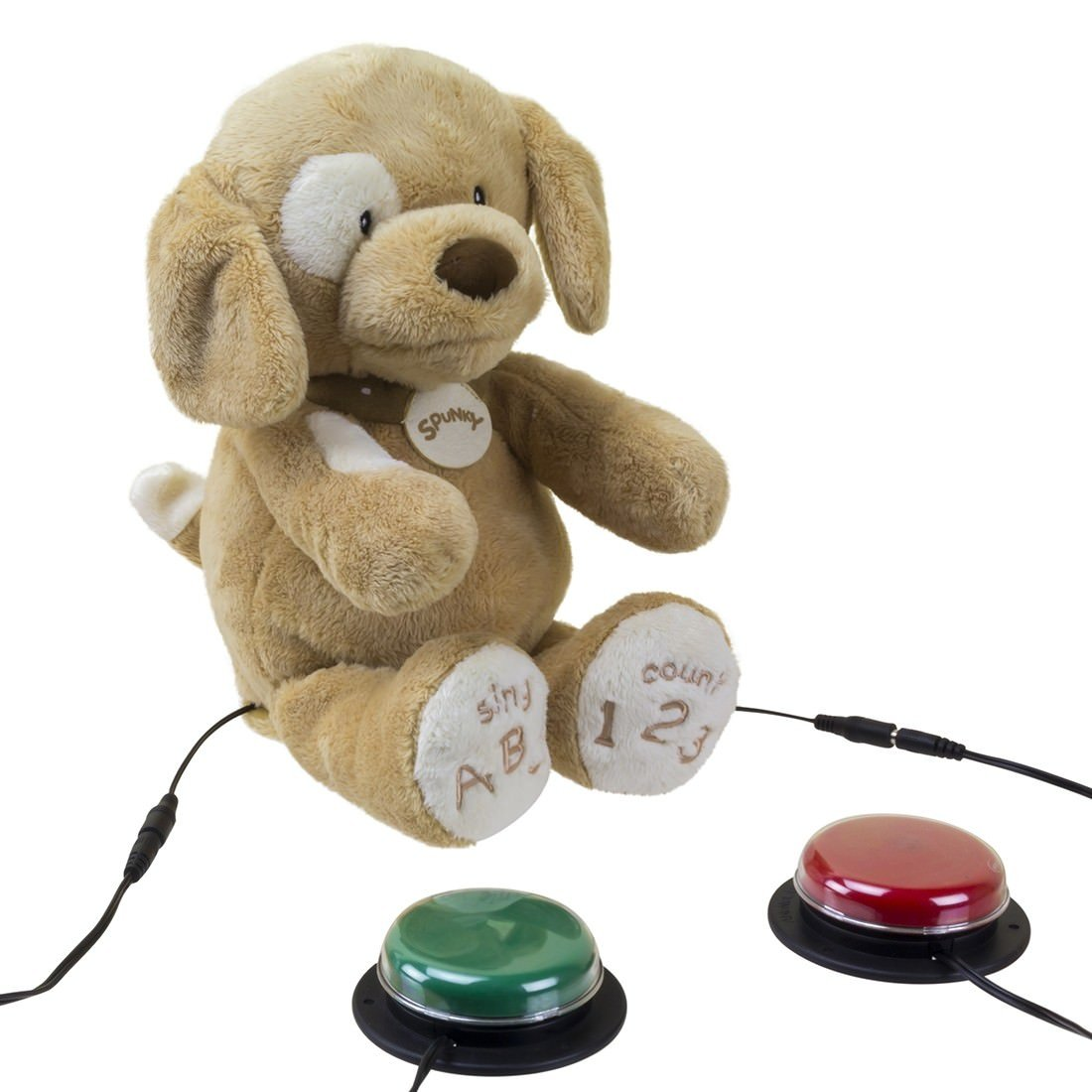 Switch Adapted Toy ABC 123 Spunky The Dog by AbleNet 30000034 by Ablenet (Image #2)