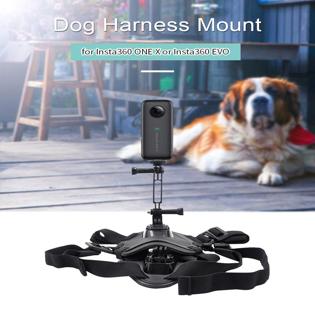 umUXHxk STARTRC Dog Chest Strap Holder Pet Vest for Insta360 ONE X / EVO Sports Camera Pet Camera
