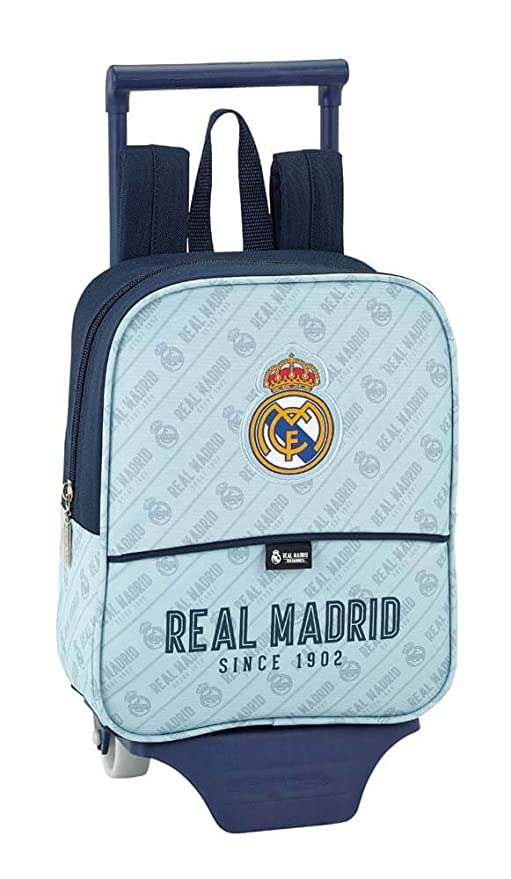 Safta Mochila Real Madrid Corporativa Oficial Guardería Con Carro Safta 220x100x270mm: Amazon.es: Equipaje