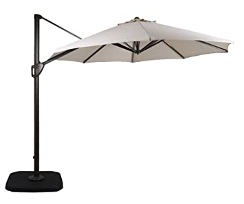 17a92c163a05 DOMI OUTDOOR LIVING 11-Feet Aluminum Cantilever Umbrella Outdooor ...