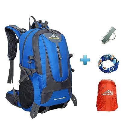 4696829591c5a4 Huwaijianfeng - Zaino da trekking da 40 l, per campeggio, escursioni,  alpinismo,