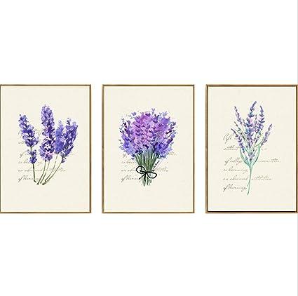 Amazon Cross Stitch Kits For Lavender Eafior 3pcsset Diy