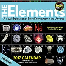 Elements 2017 calendar a visual exploration of every known atom in turn on 1 click ordering for this browser urtaz Images