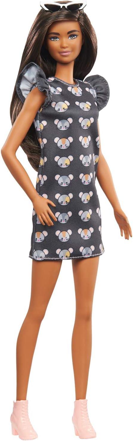 Barbie- Muñeca Fashionistas n.º 140 (Mattel GHW54)