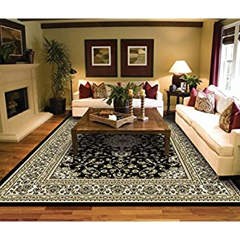 Large Rugs For Living Room Black Traditional Oriental Medallion Clearance Area  Rugs 8x10 Prime Rugs