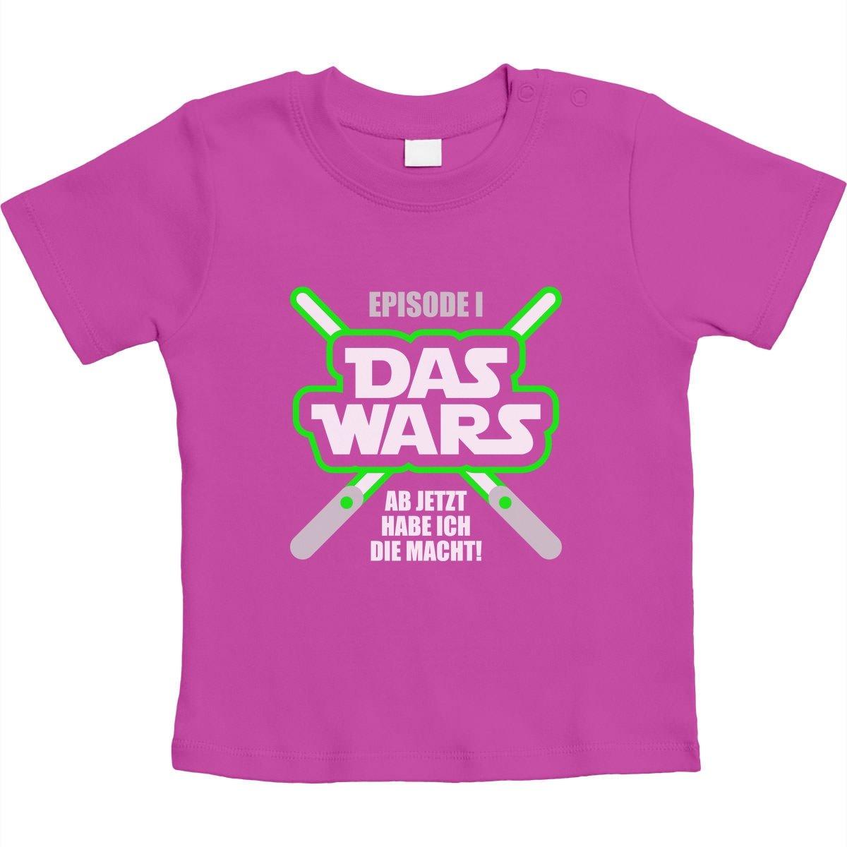 Geschenk f/ür die kleinsten Fans DAS Wars Unisex Baby T-Shirt Gr 66-93