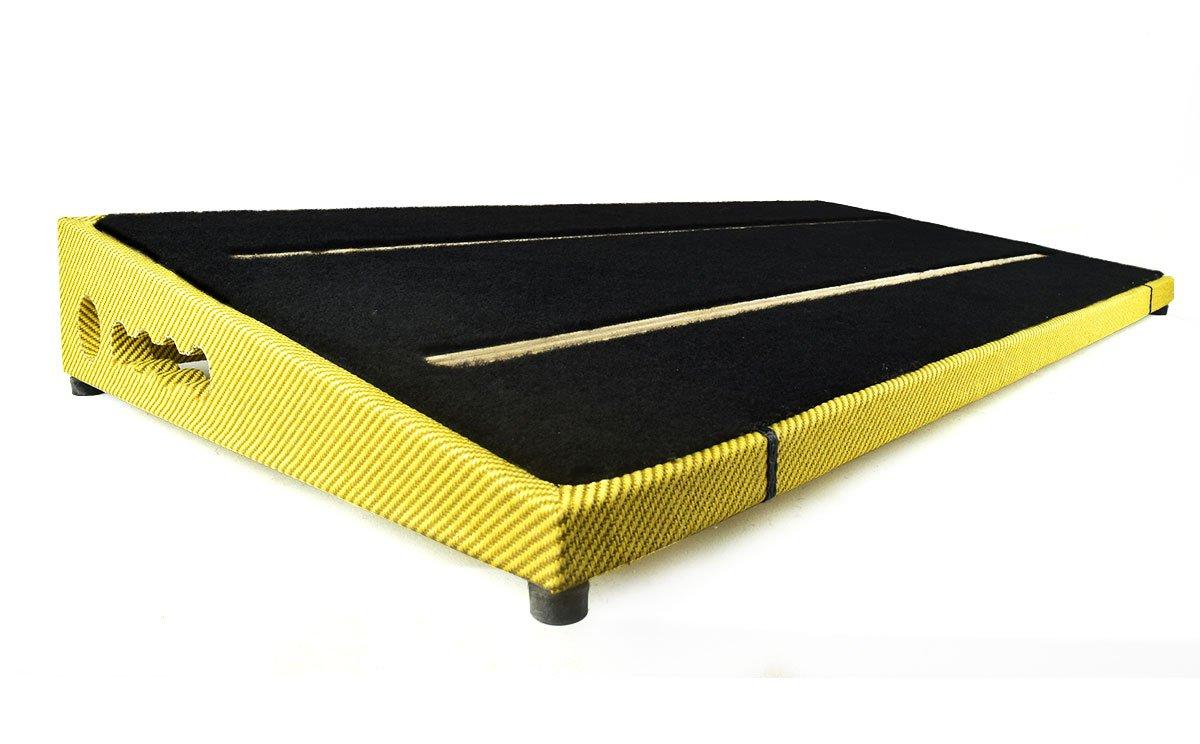Ruach Light Tweed Finish Size 4 Pedalboard 79 × 37.5 x 8cm