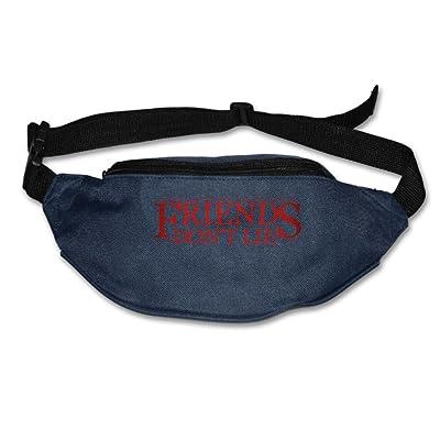 60%OFF Unisex Pockets Friend's Don't Lie (2) Fanny Pack Waist / Bum Bag Adjustable Belt Bags Running Cycling Fishing Sport Waist Bags Black