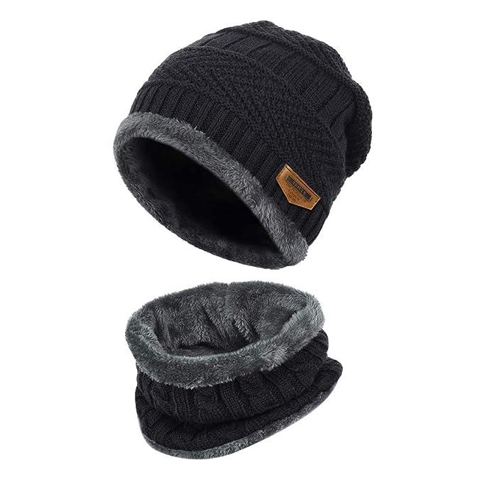 Gorras Con Bufanda de invierno