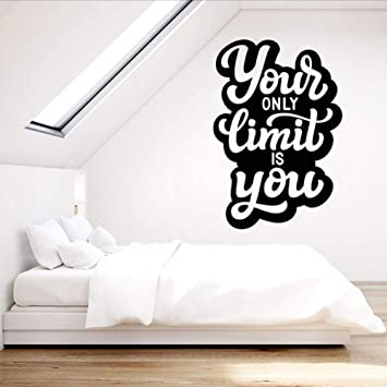 Amazoncom Smydp Vinyl Wall Decal For Office Motivation