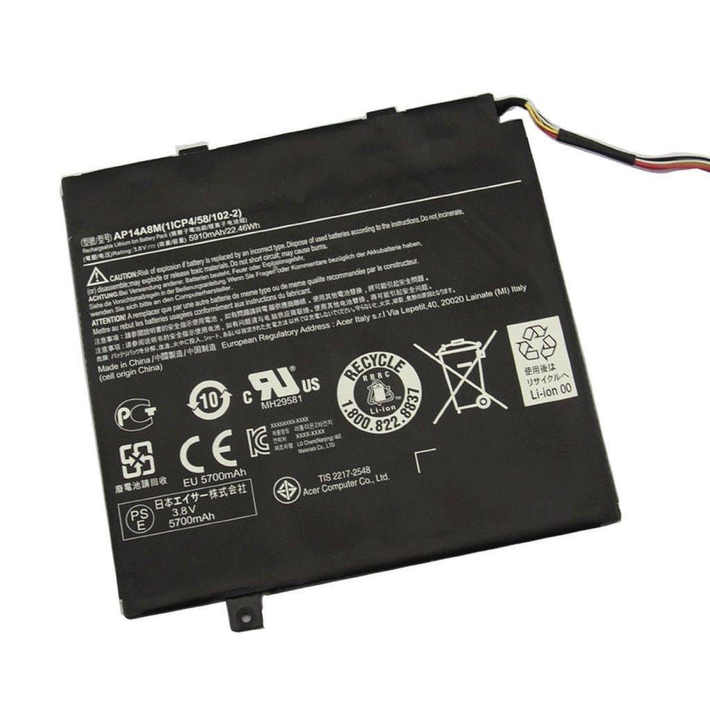 BPXbatería del ordenador portátil AP14A8M battery for Acer Aspire Switch 10 SW5-011 Tablet 10inch: Amazon.es: Electrónica
