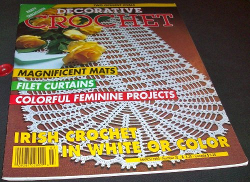 Decorative Crochet March 1993 (Number 32) -