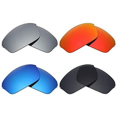 9a19438d560 Image Unavailable. Image not available for. Color  Mryok 4 Pair Polarized  Replacement Lenses for Oakley Half Wire 2.0 ...