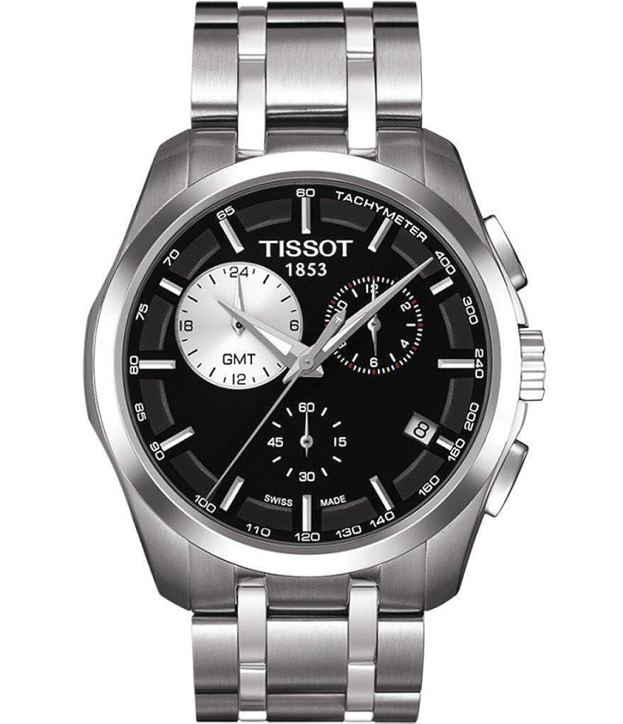 Tissot T0354391105100 - Reloj de Caballero de Cuarzo, Correa de Acero Inoxidable Color Plata: Amazon.es: Relojes