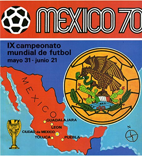 Álbum mundial de fútbol México 1970 (English Edition)