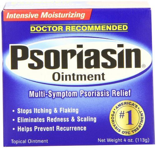 Psoriasin Multi-Symptom Pommade du psoriasis en relief, hydratant intensif, 4 onces (pack de 2)