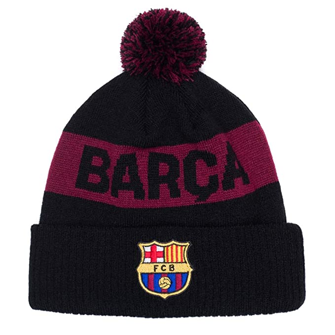 7aeb2a41d98ac5 Image Unavailable. Image not available for. Color: Fi Collection Barcelona  Burgundy Pom Beanie