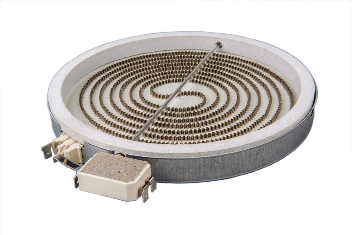 Calefactor de Hornilla Placa Cocina Vitrocerámica 210mm ...
