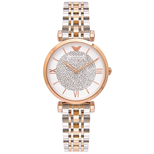 Reloj para mujer 2018 New Fashion Trend Rhinestone Light Luxury Cinturón de acero impermeable Reloj de