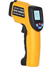 BSIDE GM320 Non-contact Digital Laser Infrared Thermometer Temperature Gun -58℉-716℉ (-50℃-380℃) for Cooking BBQ Kitchen Automotive and Industrial