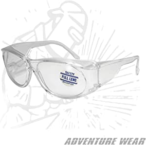 MS Magnifying Safety Glasses - Anti-Fog, 1.25 - MS125