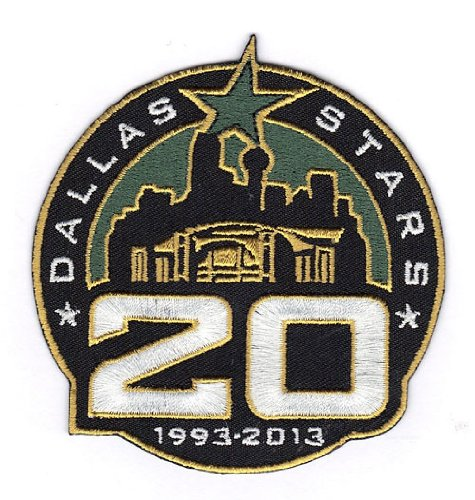2012-13 Dallas Stars 20th Anniversary Jersey Patch 20th Anniversary Patch