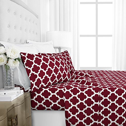 red and white sheets - 6