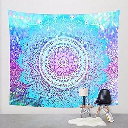 JCDZH-FT La India viento tapices tapices pintados a mano, manteles de elefante cuelgue