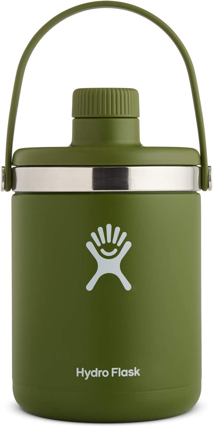 Hydro Flask Oasis Water Jug - Stainless Steel & Vacuum Insulated - Leak Proof Cap - Multiple Sizes & Colors