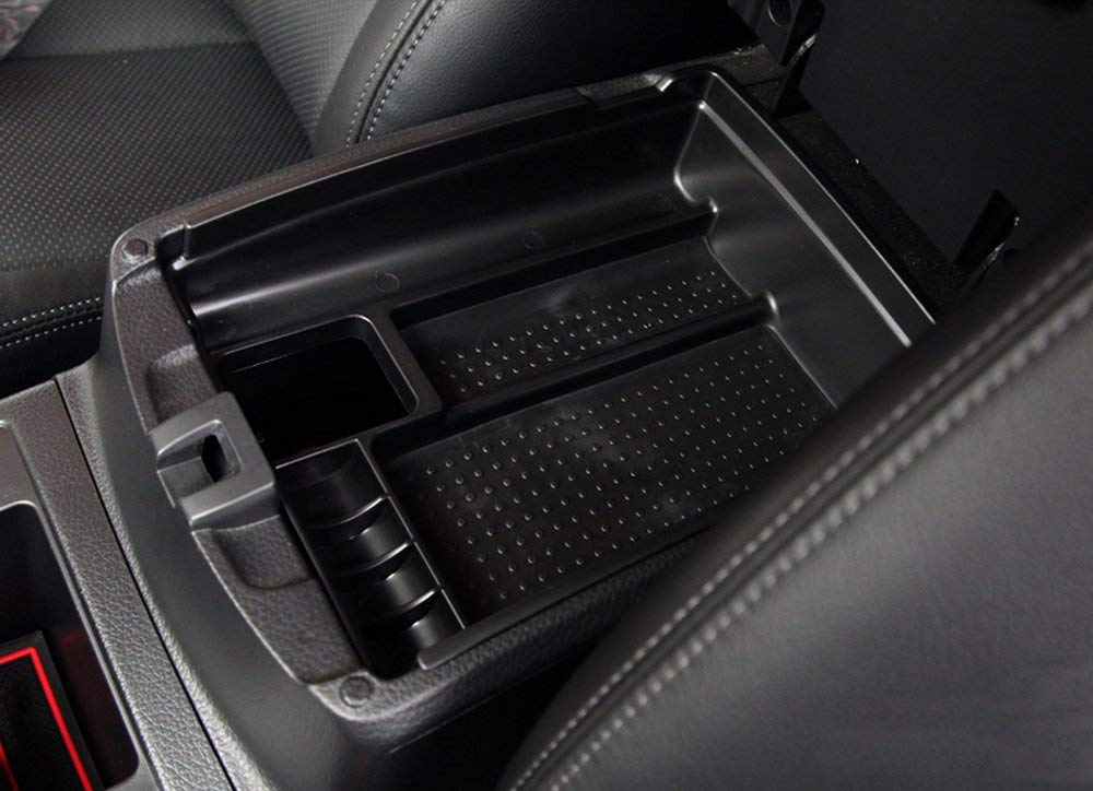 Muchkey Armlehnen-Aufbewahrungsbox Tablett f/ür Auto-Zubeh/ör f/ür Nissan X-Trail T32,/2014,/2015,/Rogue 2014,/1/St/ück pro Set