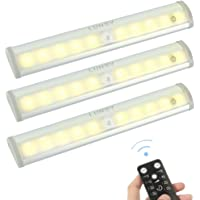 LUNSY Remote Control Under Cabinet Lighting