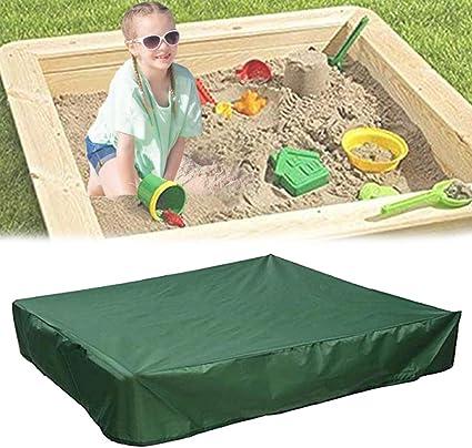 Waterproof Kids Sandpit Cover Bench Seat Ball Sand Pit Childrens Sandbox Play