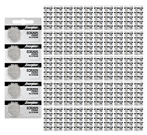 1000x Energizer CR2025 Batteries 3v Lithium Coin Battery Bulk Wholesale FRESH by 21Supply