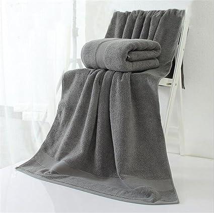PLYY 21 Toalla de baño de algodón Puro Hotel de Llanura Espesado, A